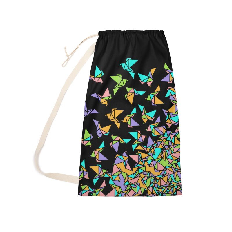 Birds Accessories Laundry Bag Bag by blancajp's Artist Shop