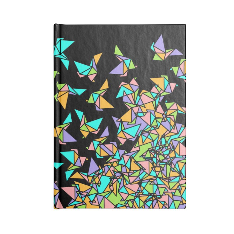 Birds Accessories Lined Journal Notebook by blancajp's Artist Shop