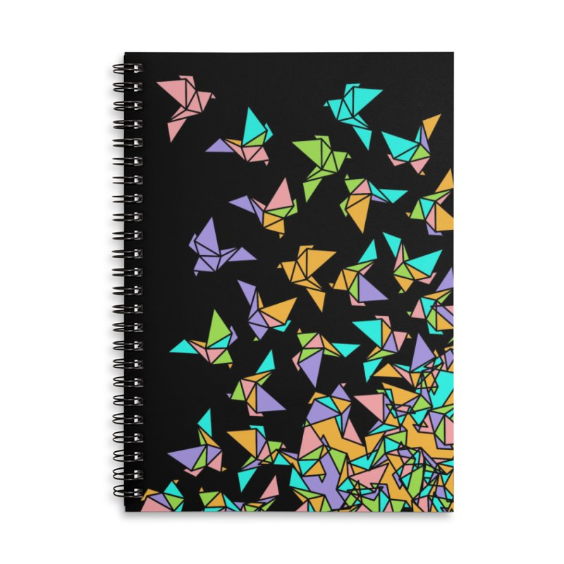 Birds Accessories Lined Spiral Notebook by blancajp's Artist Shop