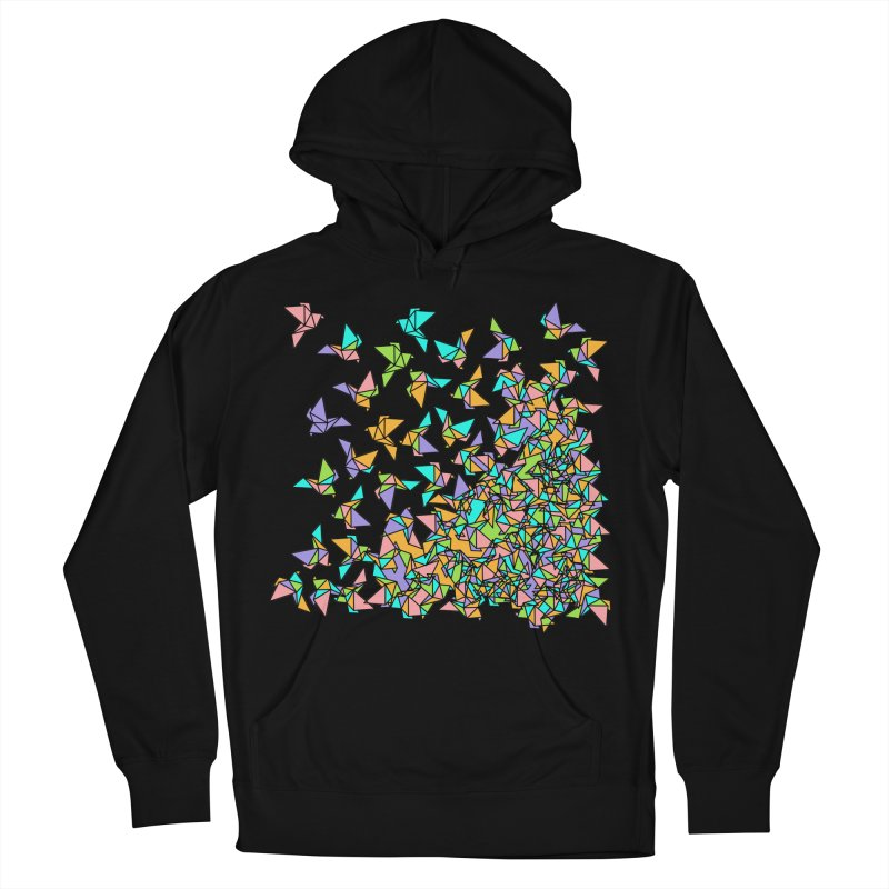 Birds Men's French Terry Pullover Hoody by blancajp's Artist Shop