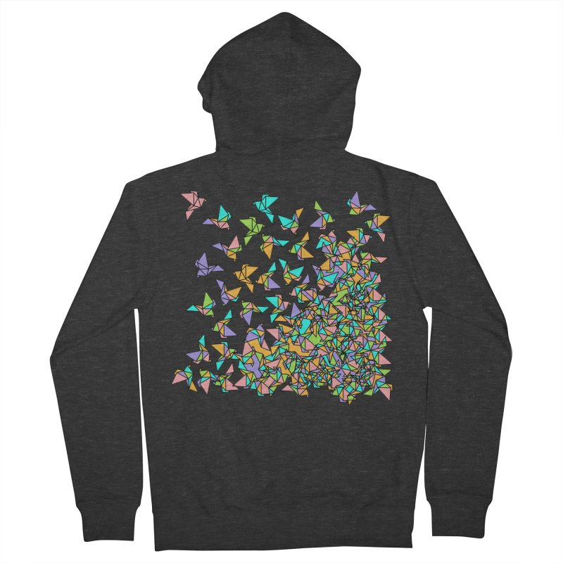 Birds Women's French Terry Zip-Up Hoody by blancajp's Artist Shop
