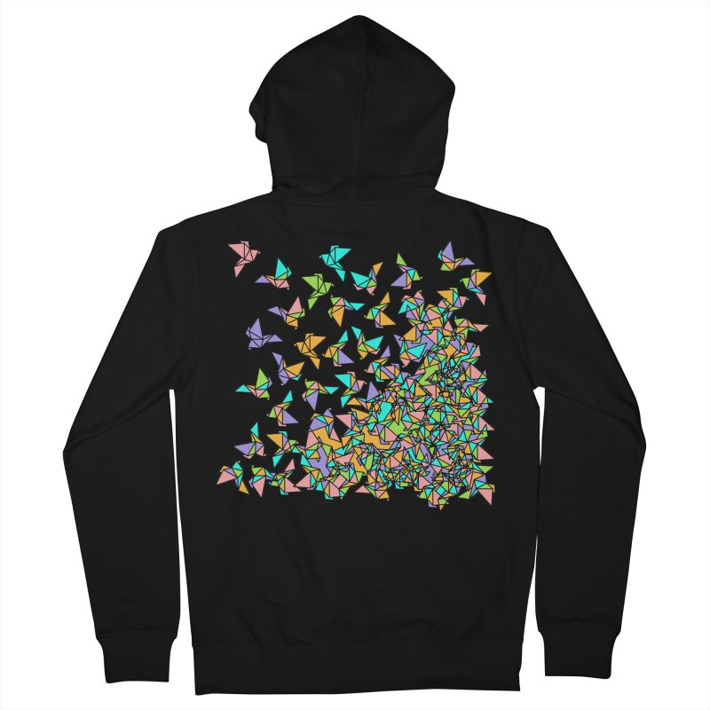Birds Men's French Terry Zip-Up Hoody by blancajp's Artist Shop