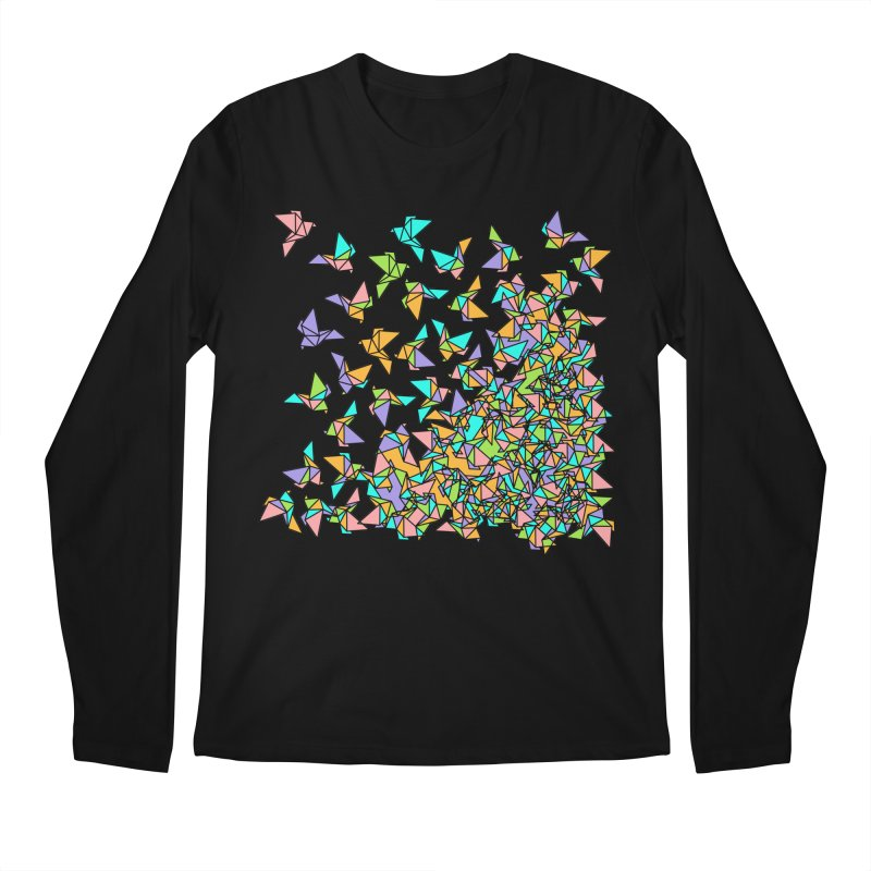 Birds Men's Regular Longsleeve T-Shirt by blancajp's Artist Shop