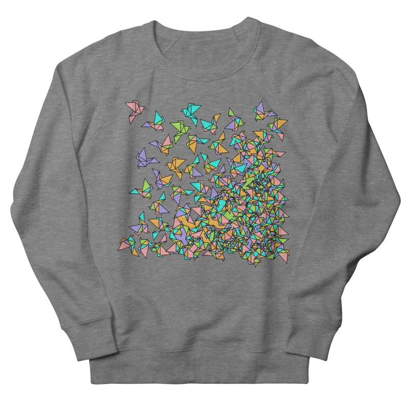 Birds Women's French Terry Sweatshirt by blancajp's Artist Shop