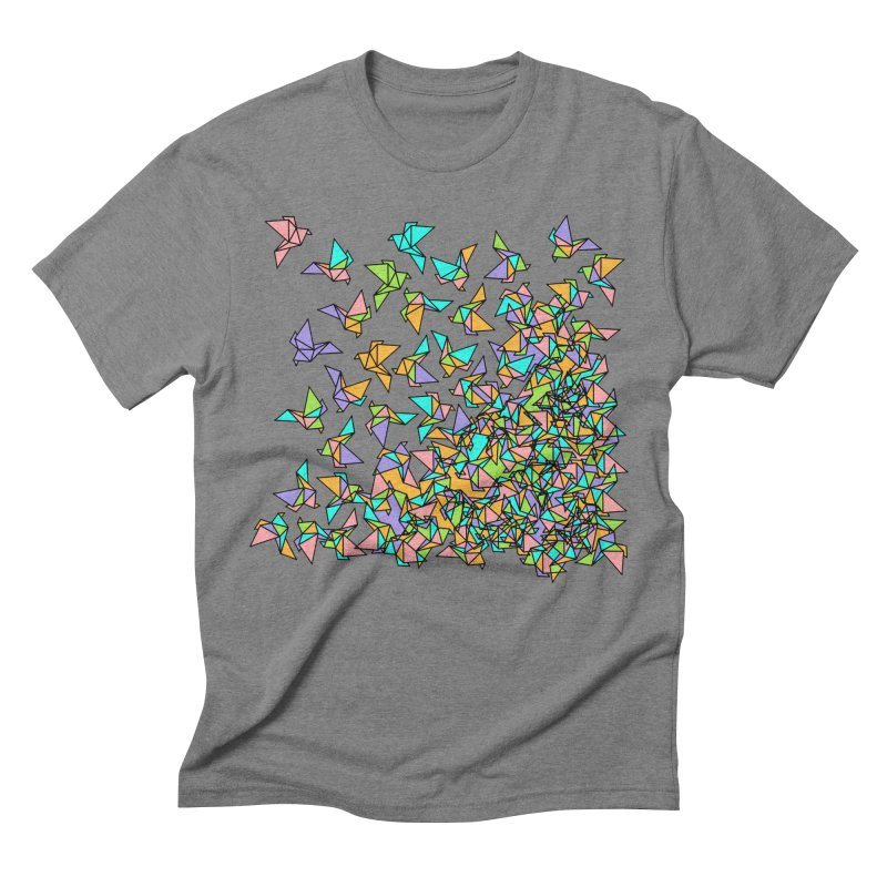 Birds Men's Triblend T-Shirt by blancajp's Artist Shop