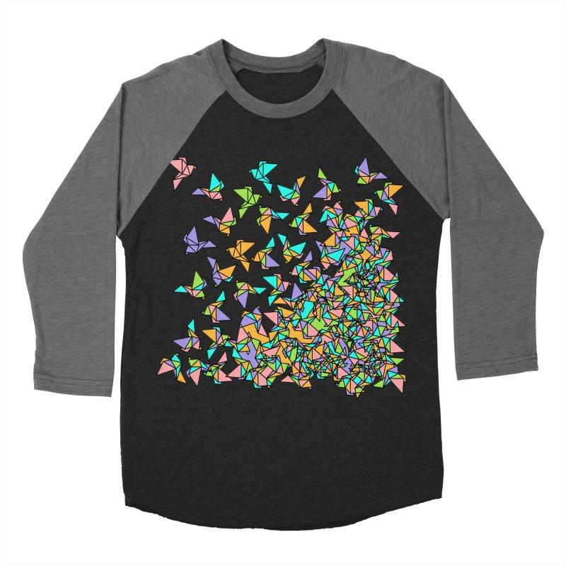 Birds Men's Baseball Triblend Longsleeve T-Shirt by blancajp's Artist Shop