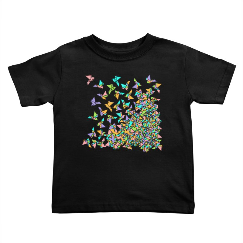 Birds Kids Toddler T-Shirt by blancajp's Artist Shop