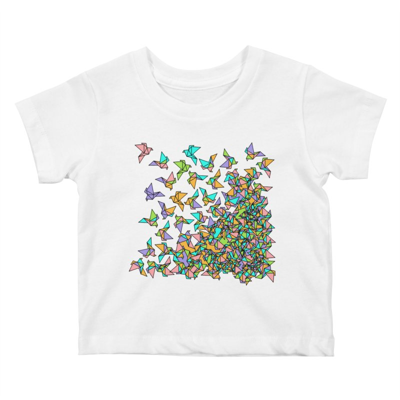 Birds Kids Baby T-Shirt by blancajp's Artist Shop