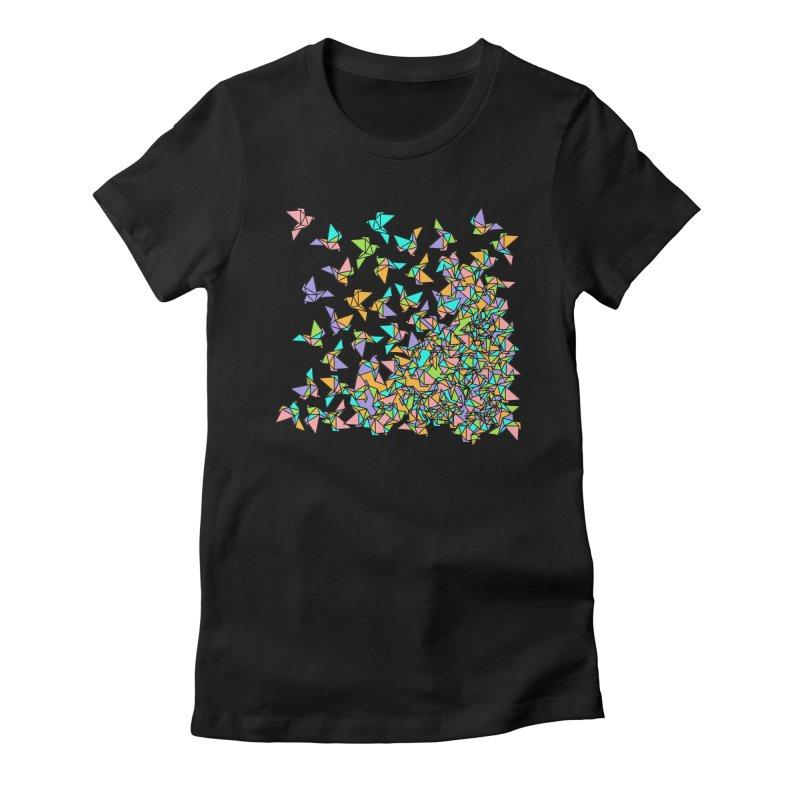 Birds Women's T-Shirt by blancajp's Artist Shop