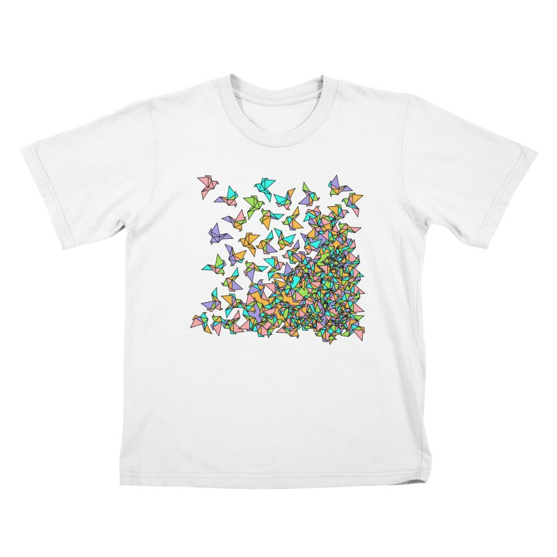 Birds Kids T-Shirt by blancajp's Artist Shop