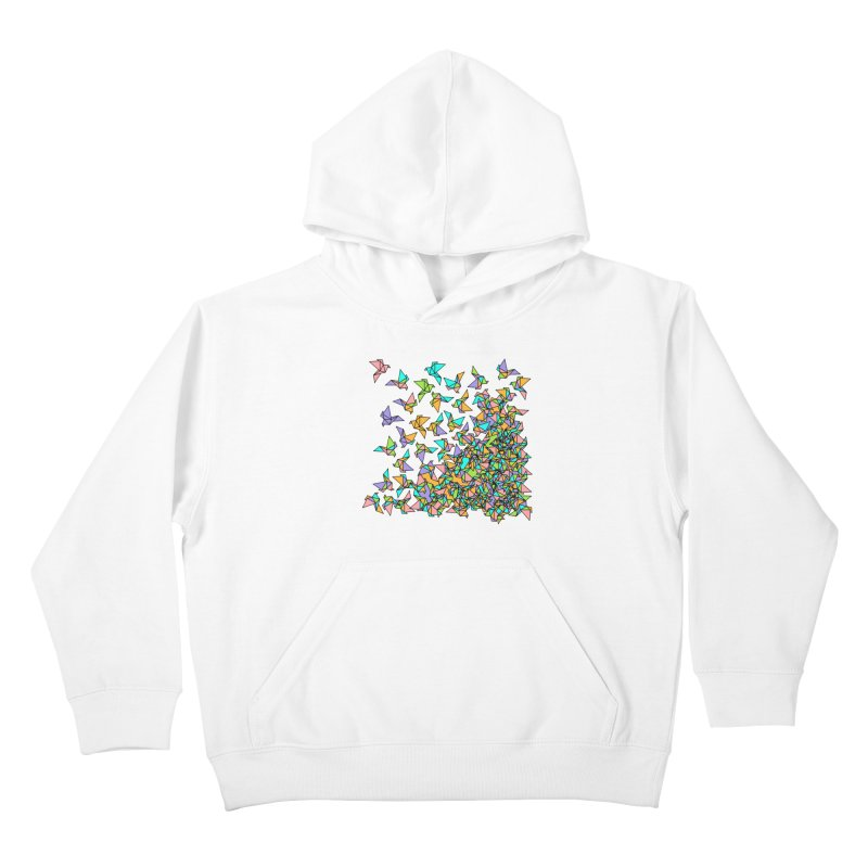 Birds Kids Pullover Hoody by blancajp's Artist Shop