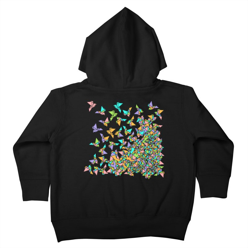 Birds Kids Toddler Zip-Up Hoody by blancajp's Artist Shop