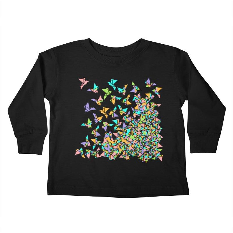 Birds Kids Toddler Longsleeve T-Shirt by blancajp's Artist Shop
