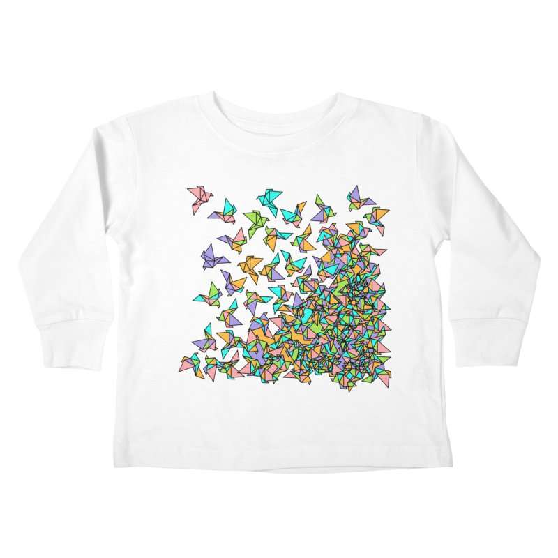 Birds Kids Toddler Longsleeve T-Shirt by blancajp's Artist Shop