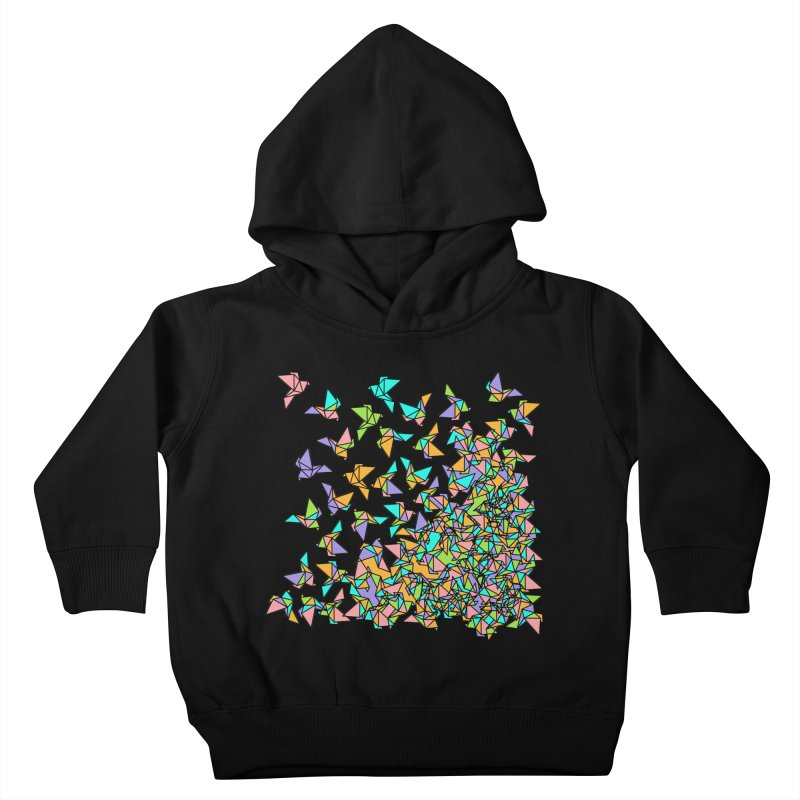 Birds Kids Toddler Pullover Hoody by blancajp's Artist Shop