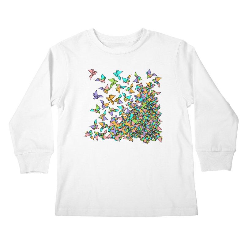Birds Kids Longsleeve T-Shirt by blancajp's Artist Shop