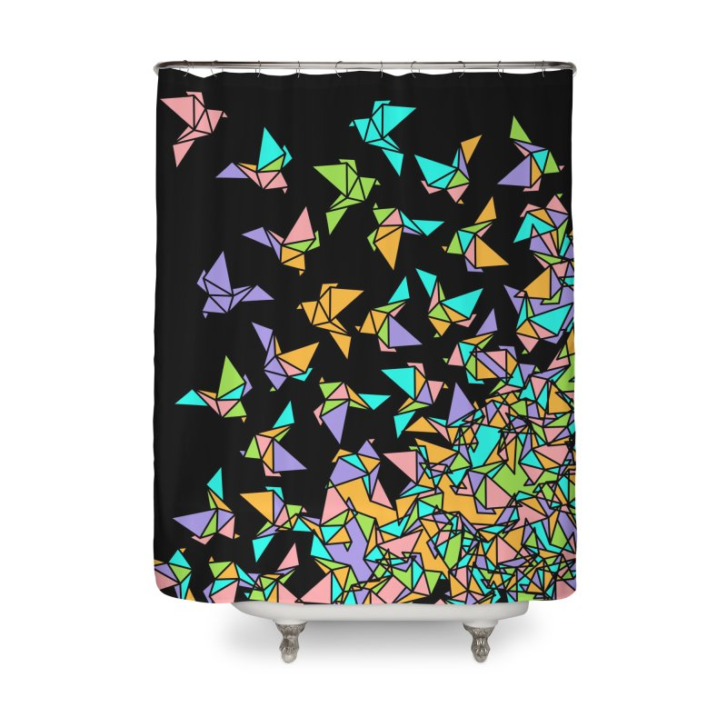 Birds Home Shower Curtain by blancajp's Artist Shop
