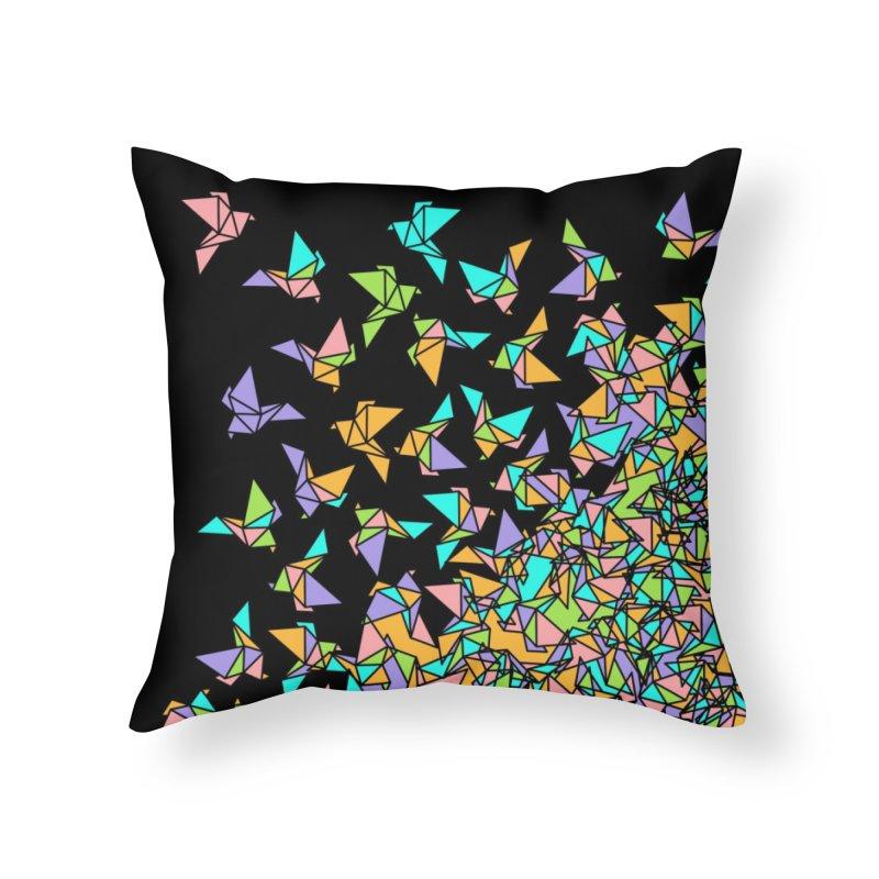 Birds Home Throw Pillow by blancajp's Artist Shop