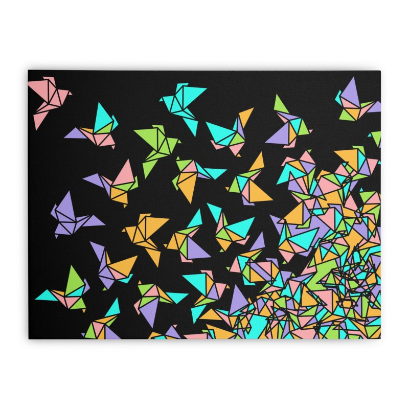 Birds Home Stretched Canvas by blancajp's Artist Shop
