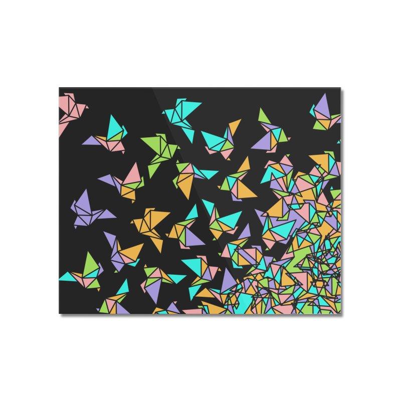 Birds Home Mounted Acrylic Print by blancajp's Artist Shop