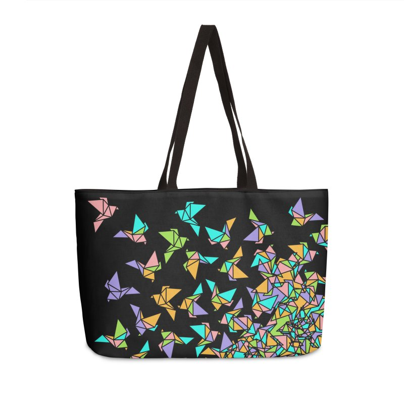 Birds Accessories Weekender Bag Bag by blancajp's Artist Shop