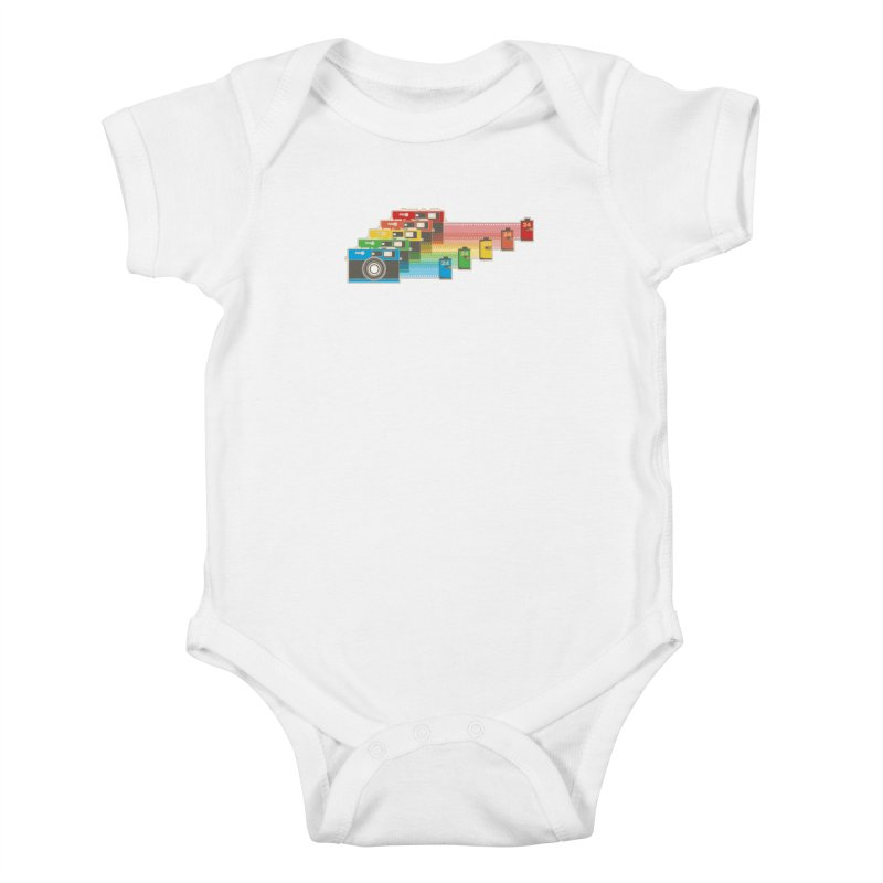 1970 Kids Baby Bodysuit by blancajp's Artist Shop