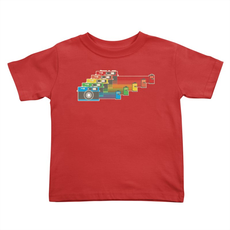 1970 Kids Toddler T-Shirt by blancajp's Artist Shop