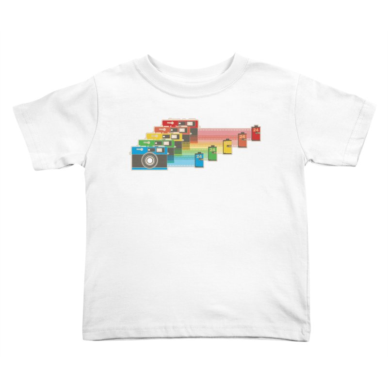 1970 Kids Toddler T-Shirt by blancajp's Artist Shop