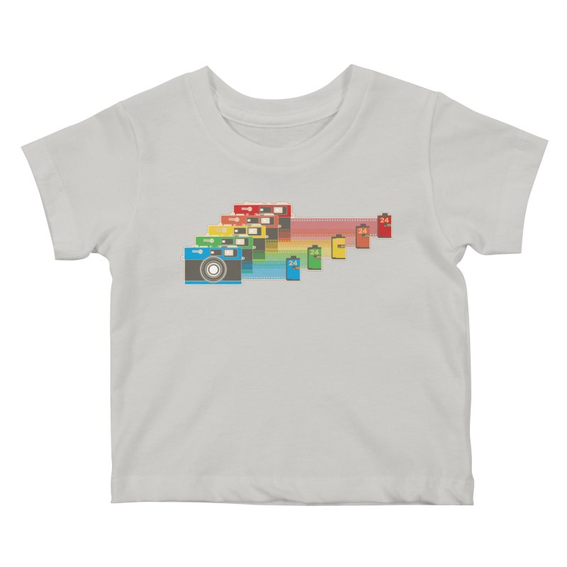 1970 Kids Baby T-Shirt by blancajp's Artist Shop
