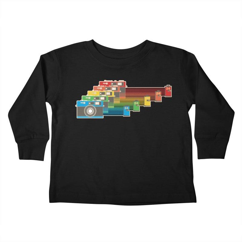 1970 Kids Toddler Longsleeve T-Shirt by blancajp's Artist Shop