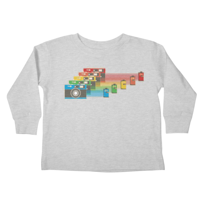 1970 Kids Toddler Longsleeve T-Shirt by blancajp's Artist Shop