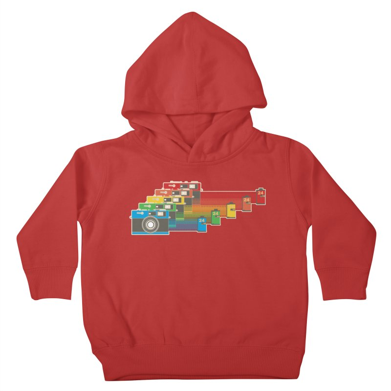 1970 Kids Toddler Pullover Hoody by blancajp's Artist Shop