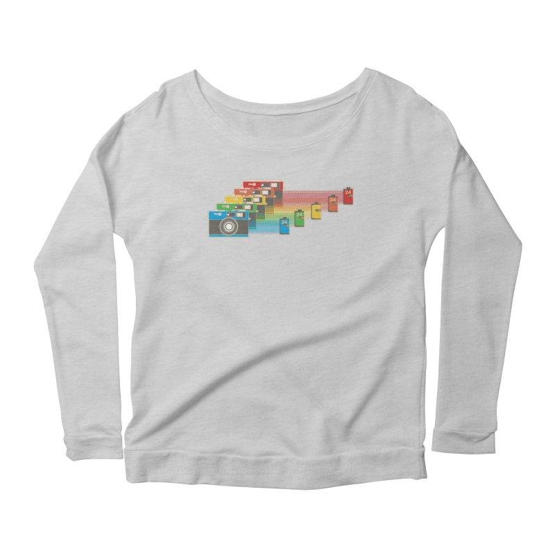 1970 Women's Scoop Neck Longsleeve T-Shirt by blancajp's Artist Shop