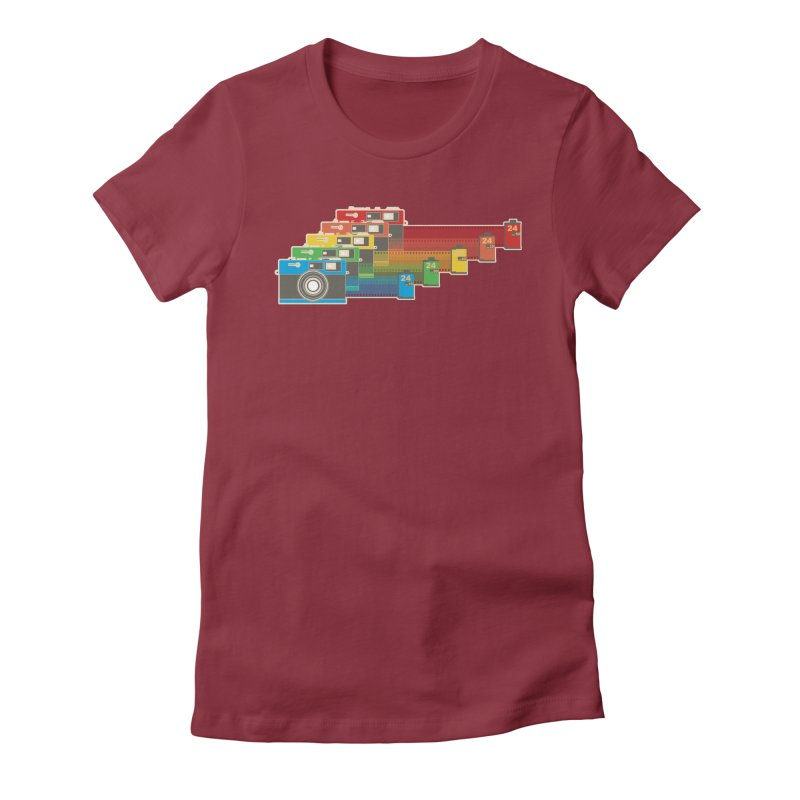 1970 Women's Fitted T-Shirt by blancajp's Artist Shop