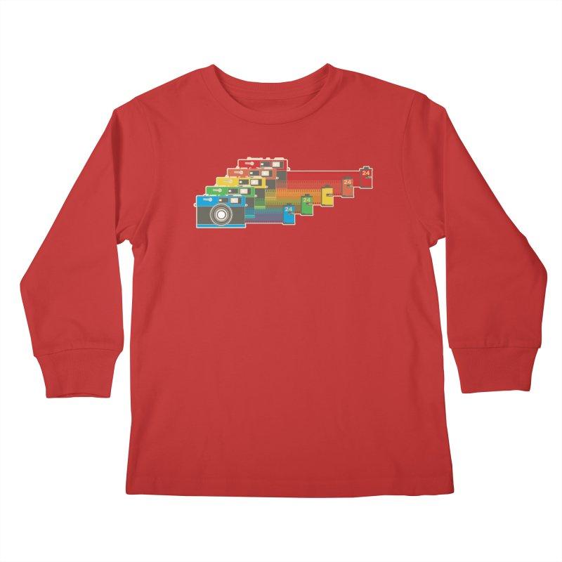 1970 Kids Longsleeve T-Shirt by blancajp's Artist Shop
