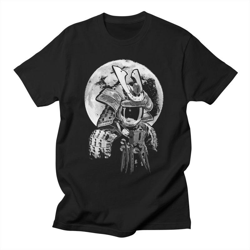 Space Samurai Men's T-Shirt by blancajp's Artist Shop