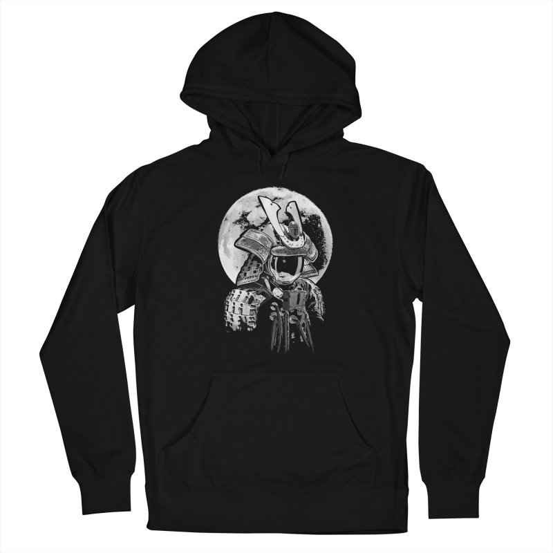 Space Samurai Men's French Terry Pullover Hoody by blancajp's Artist Shop