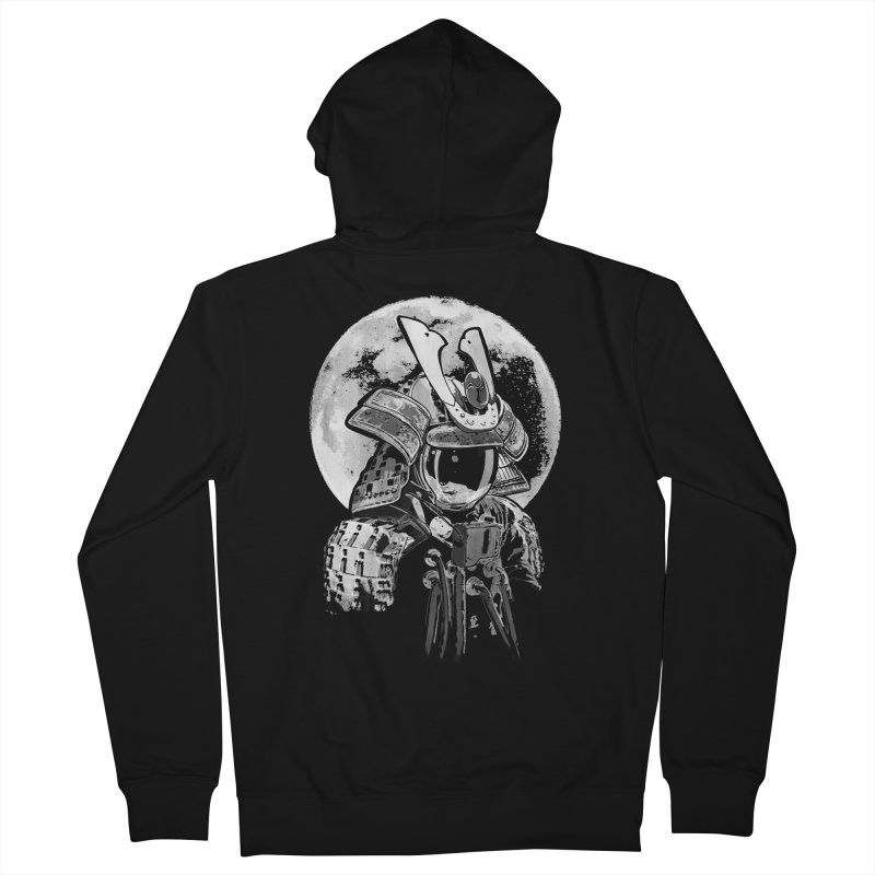 Space Samurai Women's French Terry Zip-Up Hoody by blancajp's Artist Shop
