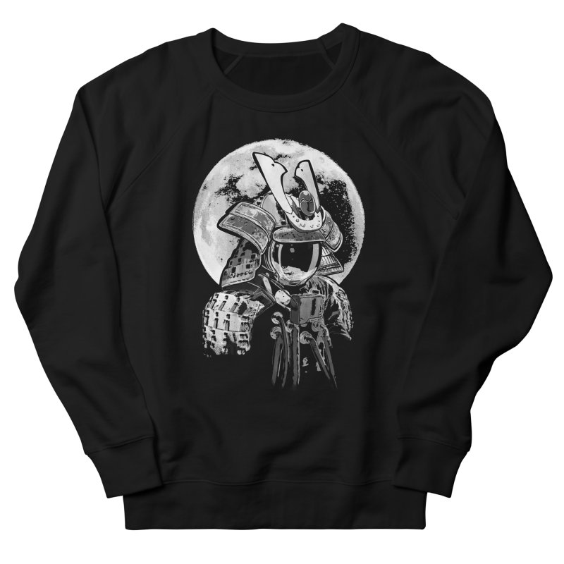 Space Samurai Men's French Terry Sweatshirt by blancajp's Artist Shop