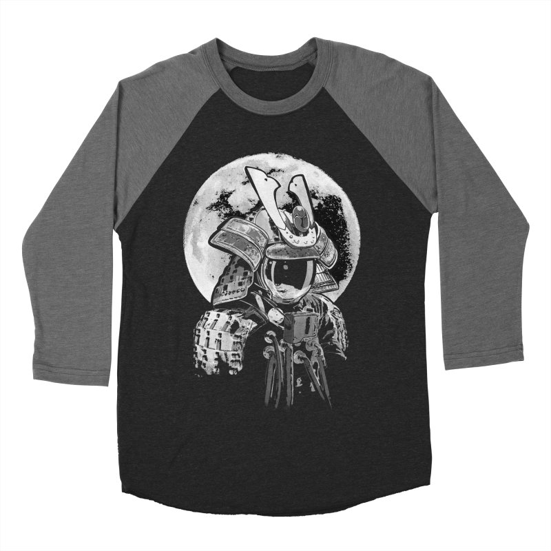Space Samurai Men's Baseball Triblend T-Shirt by blancajp's Artist Shop