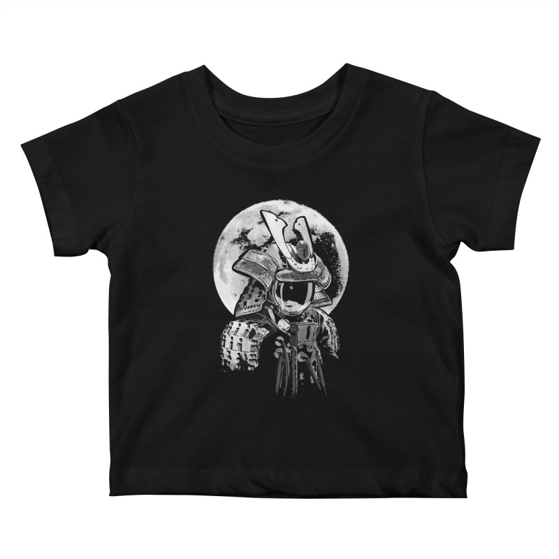 Space Samurai Kids Baby T-Shirt by blancajp's Artist Shop