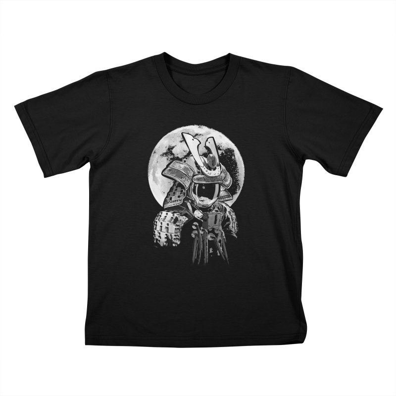 Space Samurai Kids T-shirt by blancajp's Artist Shop