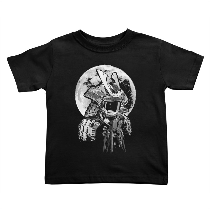 Space Samurai Kids Toddler T-Shirt by blancajp's Artist Shop