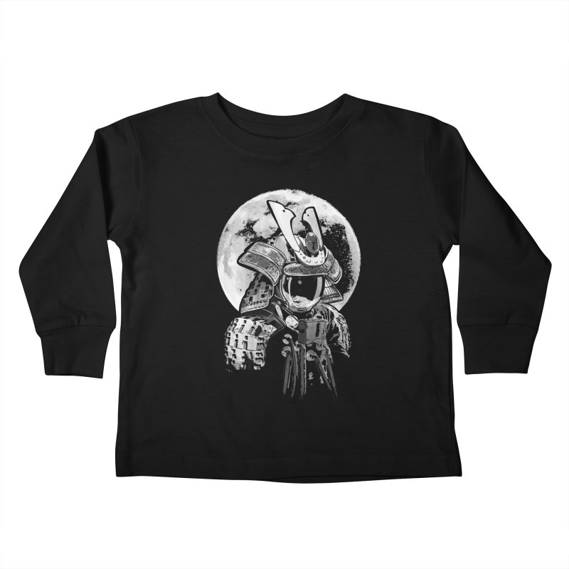 Space Samurai Kids Toddler Longsleeve T-Shirt by blancajp's Artist Shop