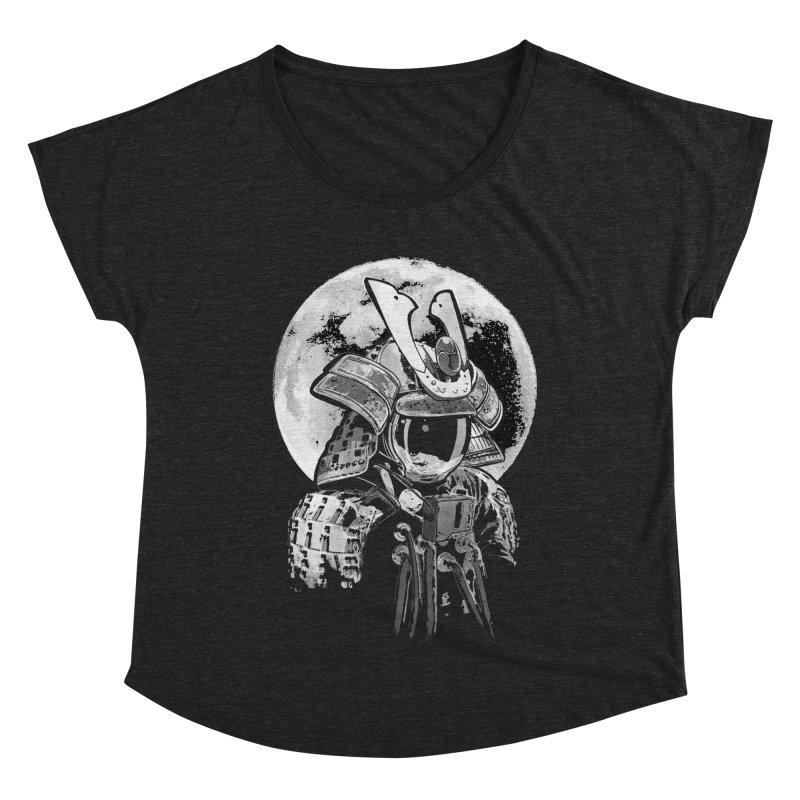 Space Samurai Women's Dolman Scoop Neck by blancajp's Artist Shop