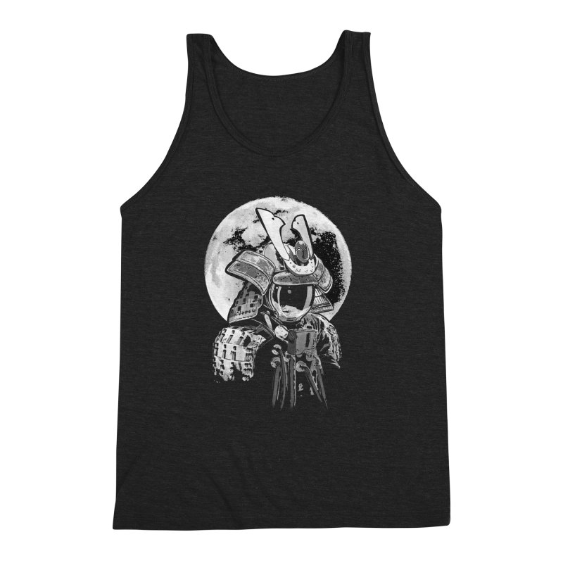 Space Samurai Men's Triblend Tank by blancajp's Artist Shop
