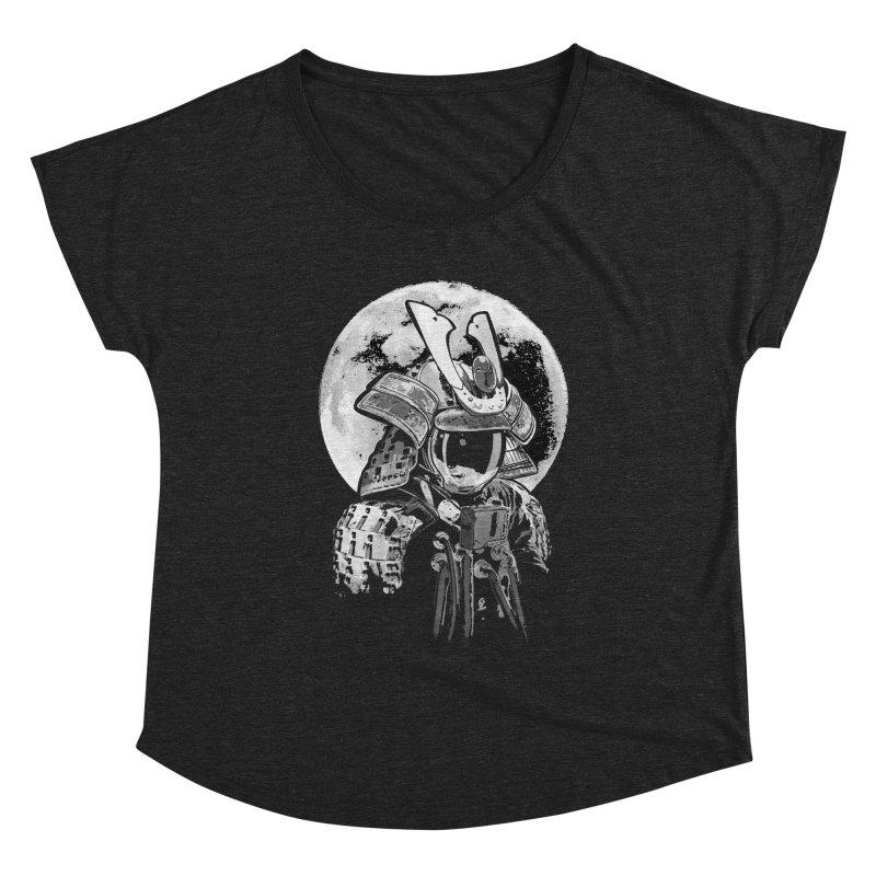 Space Samurai Women's Scoop Neck by blancajp's Artist Shop
