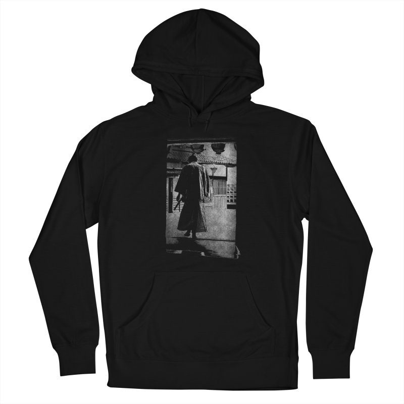 Samurai Samurai Men's French Terry Pullover Hoody by blancajp's Artist Shop