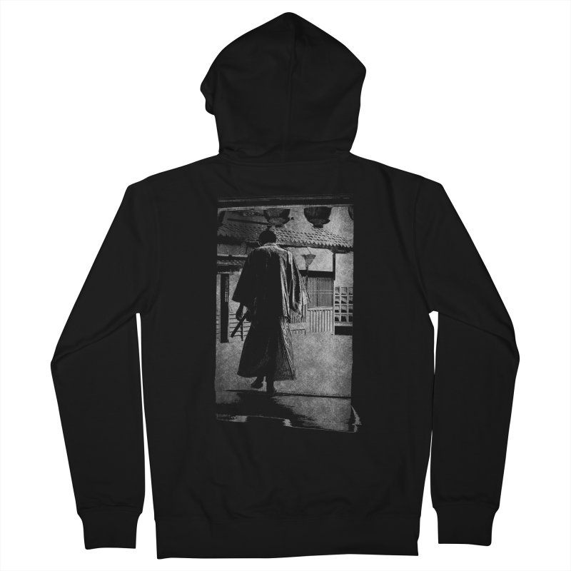 Samurai Samurai Men's Zip-Up Hoody by blancajp's Artist Shop