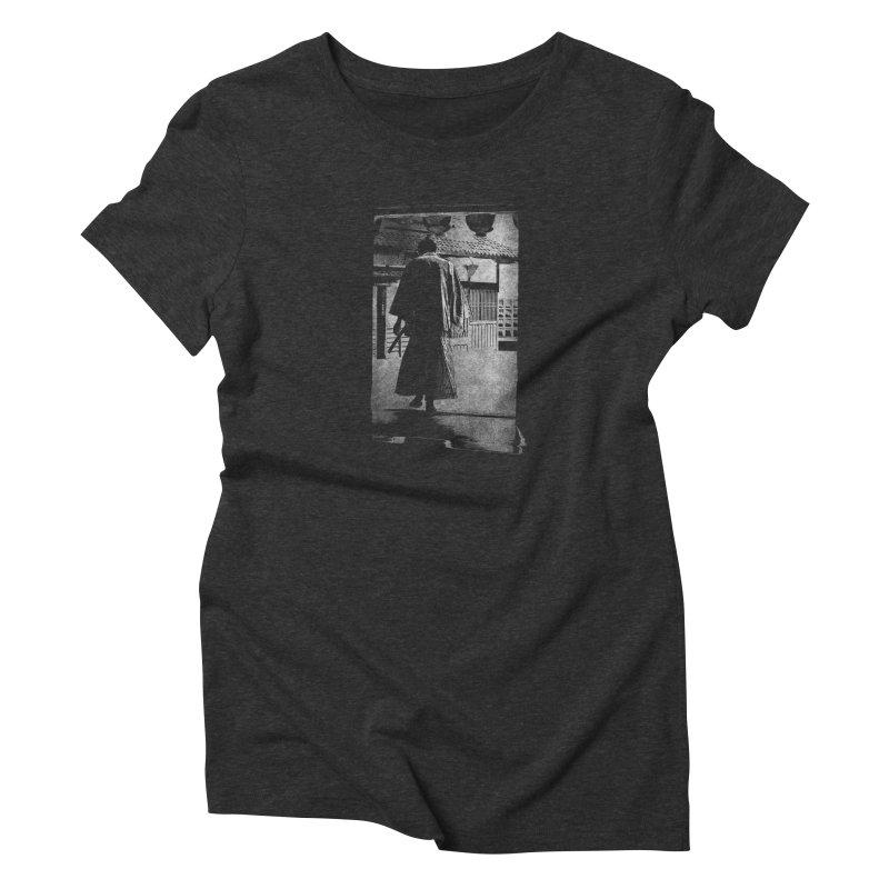 Samurai Samurai in Women's Triblend T-Shirt Heather Onyx by blancajp's Artist Shop